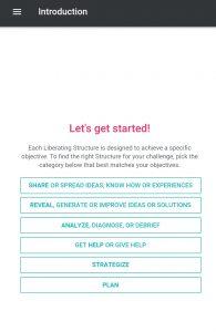 Liberating Structures App Matchmaker