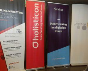 Holisticon Hannover als Bronze-Sponsor auf dem Barcamp
