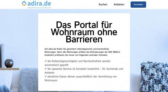 adira.de - Portal für barrierefreies Wohnen